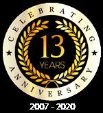 13 YEARS 2007-2020
